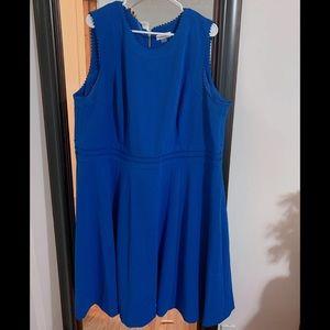 Calvin Klein blue dress